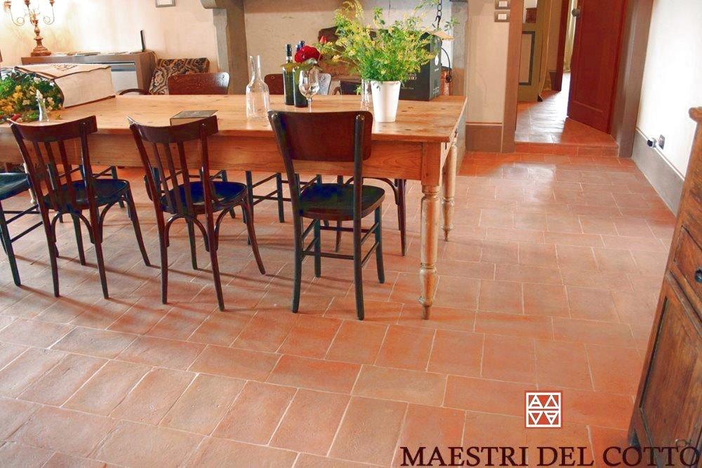 Piastrelle in cotto per interni pavimenti in cotto fatto a mano a