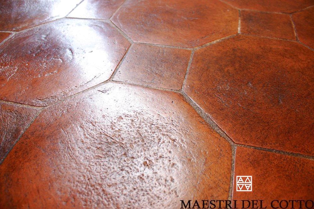 Pavimento in cotto lucido pavimenti in cotto fatto a mano e cotto