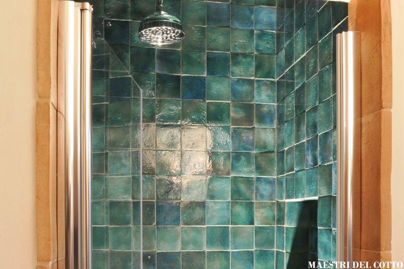 Rivestimento per bagni in cotto smaltato rivestimento cotto smaltato