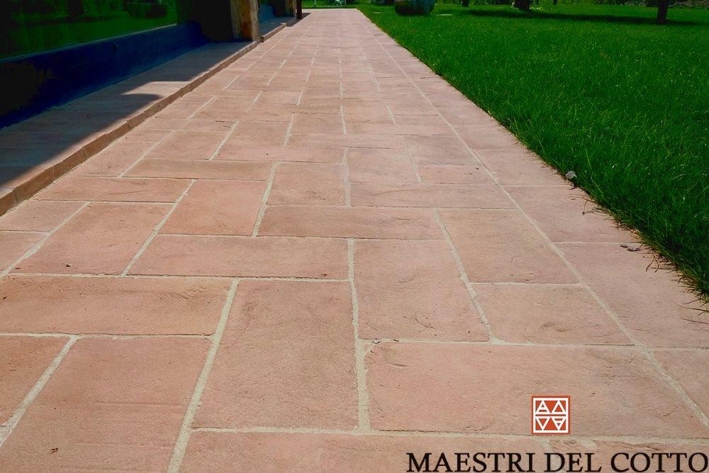 Pavimenti marciapiede in cotto pavimento per marciapiedi viali e