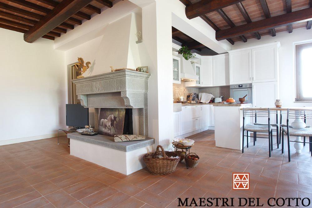 Cucine moderne con pavimento in cotto come scegliere le